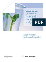 Agilent Pesticides App Compend