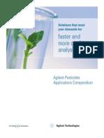Agilent Pesticides App Compend