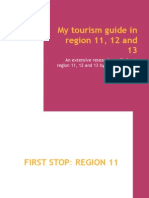 My Tourism Guide in Region 11, 12 and 13
