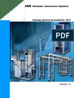 Catalogo Perfiles de Aluminio MOAS Nov 2012