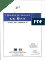 manual serviço de bar  iefp