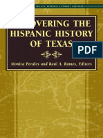 Recovering the Hispanic History of Texas edited by Monica Perales and Raul A. Ramos