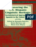 Recovering the US Hispanic Linguistic Heritage