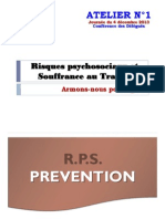 RPS & Souffrance Au Travail