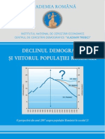 Declinul Demografic Romania 2007