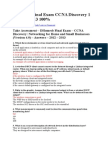 DHomesb Final Exam CCNA Discovery 1 4