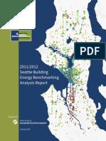 Seattle Energy Benchmarking 2011 2012 Report