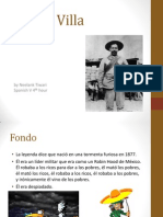 Spanish Culture Project - Pancho Villa