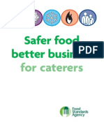 Safer Food for Cateres