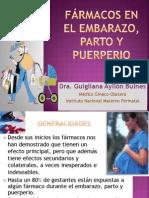 Conferencia 5_ACTUALIZADA_Fármacos en Obstetricia