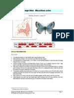 Maculinea Arion Factsheet - SWIFI