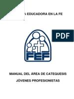 Fef Manual Area de Jovenes Profesionistas
