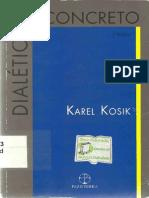 KOSIK, Karel. Dialética do concreto