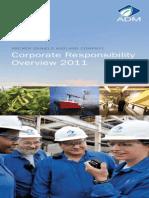 ADM 2011 Corporate Responsibility