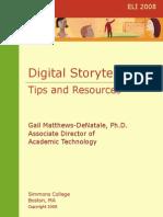 Digital Storytelling. Tips and Resources-Matthews-DeNatale