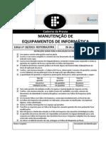 P14 - Manutenção de Equipamentos de Informática