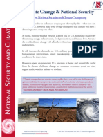National Security and Climate Change