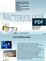 Diapositiva de Bacteriologia