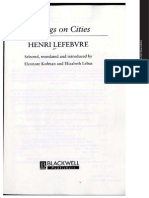 Lefebvre -The Right to the City