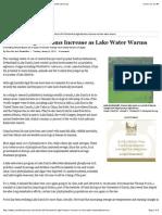 harmful algal blooms increase as lake water warms scientific american