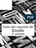 Kindle User Guide 2nd Edition ES