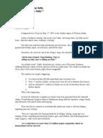 Amnesty International Da Rful Letter Edits
