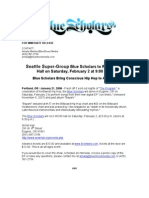 Blue Scholars Release WOW Show Eugene 2 2 08 pdf