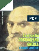 Constantin Dobrogeanu Gherea - Studii Critice