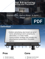 How to Create Outdoor Advertising