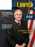 SFVBA Names Hon. Richard H. Kirschner Judge of the Year