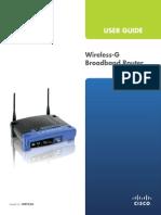 Wrt54g Linksys Wireless Router