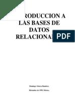 Introducción a las Bases de Datos Relacionales