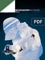 BCA 2009/2010 Skiing/Snowboarding