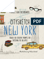 CitySketch New York City by Melissa Wood: Nearly 100 Creative Drawing Prompts for Sketching the Big Apple