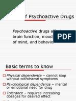 Survey of Psychoactive Drugs