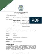 Temas de Antropologia PLAN 2012 Programa 2013