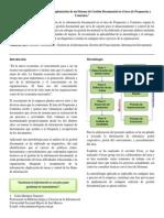 Paper Gestión Documental Diagnóstico Situacional
