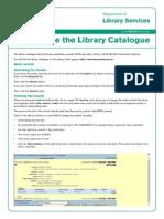 catalog librarie