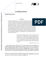 PostAnarchia Repertoire