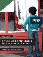 Consumer Behavior & Marketing Strategy 9e