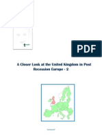 The UK in Post Recession Europe - 2