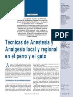 Tecnicas de Anestesia Local