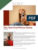 Kezia noble texting game dating