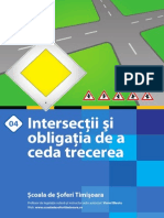 04 Prioritatea Intersectii