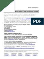 Estudios y Becas de Estudios Alemania