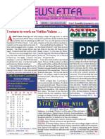 ASTROAMERICA NEWSLETTER DATED NOVEMBER 26, 2013