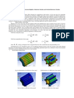 comparative study of structural rigidity of induction machine and switched reluctance machine