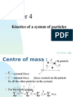 Kinetics of a System of Particles