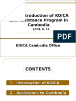 KOICA and Cambodia Office( 0830)
