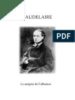 Baudelaire mépris